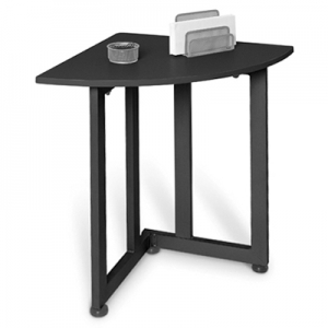 Best graphite quarter round table small corner table for Table th rounded corners