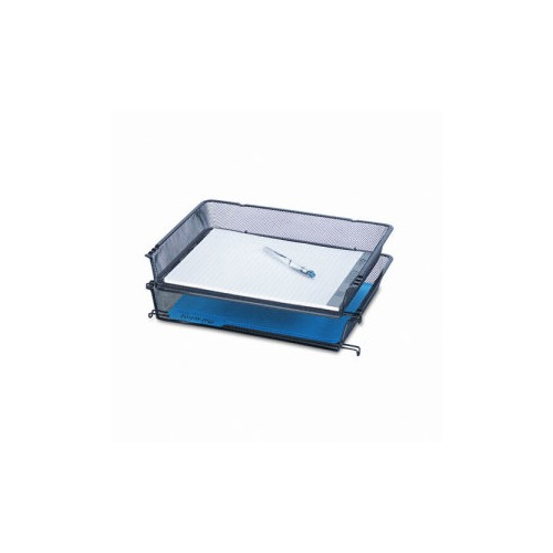 Design Ideas Mesh Letter Tray: Rolodex Nestable Mesh Stacking Side Load Letter Tray
