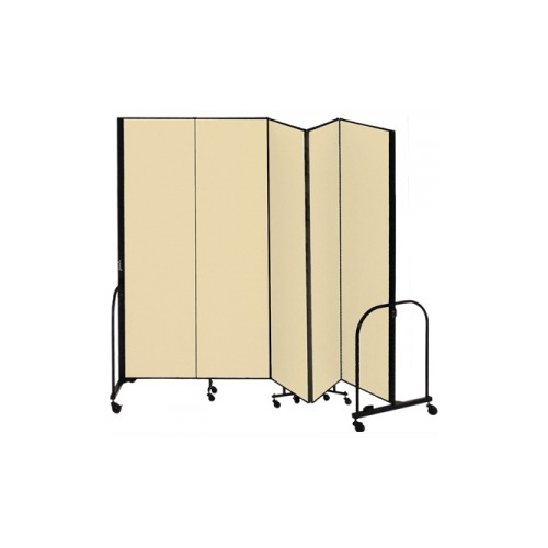 Screenflex freestanding portable room divider scxcfsl685dw - Collapsible room divider ...