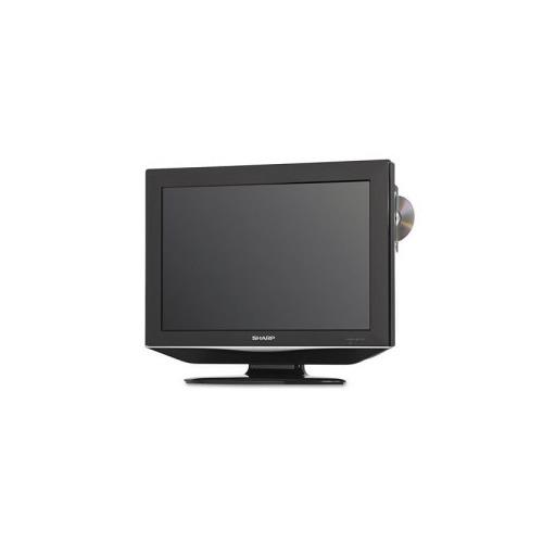 sharp 19 lcd flat panel tv dvd combo shrlc19dv22u. Black Bedroom Furniture Sets. Home Design Ideas