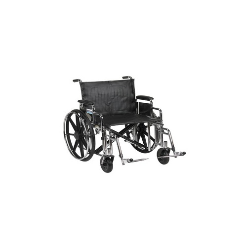 Drive medical sentra extra heavy duty wheelchair for Extra wide swing seat